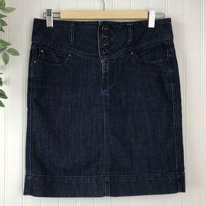 MAKERS OF TRUE ORIGINAL Denim Thigh Skirt - SZ 27